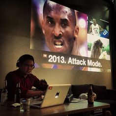 Q1 kickoff party. We're in #attackmode.