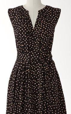 Dot Dress with Belt by Coldwater Creek