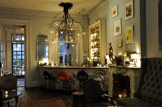 Norwood, the tony arts club situated in an old townhouse on West 14th Street near the Meatpacking district in New York, where members of the creative industries can gather over cocktails in a cozy …