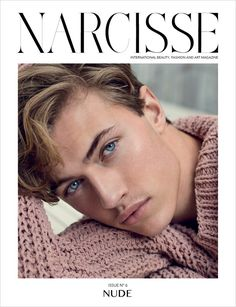 Lucky Blue | Cover Star of Narcisse Magazine #06 Issue | Photographed by Marcin Tyszka ❤