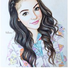 Bethany Mota Drawing! This Is Absolutely Amazing! Repin So Bethers Can See This❤️