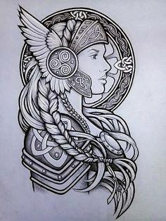 Rune Tattoo, Norse Tattoo, Celtic Tattoos, Viking Tattoos, Arm Tattoo, Half Sleeve Tattoos Sketches, Tattoo Sketches, Black Tattoos, Tribal Tattoos