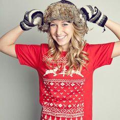 A Christmas t-shirt sweater, cute:D