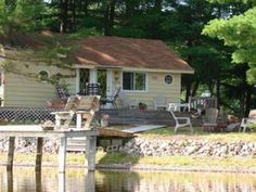 Hilgart Realty Up North Vacation Lodging The Pond Cabin Glidden