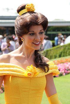 ベル | Flickr   Beauty Belle Disney Princess Belle, Disney Princesses, Belle Cosplay, Tale As Old As Time, Disney Face Characters, Disneyland Park, Princess Collection, Disney Dresses, Disney Parks