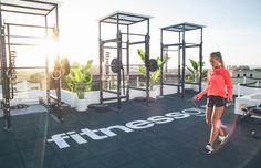 Rooftop gym | Fitnessguru