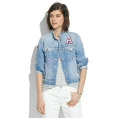 Madewell - The Jean Jacket: Patchwork Edition