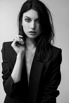 Jacquelyn Jablonski Black Hairs Colour and Medium Hairstyles 2015 | Hairstyles