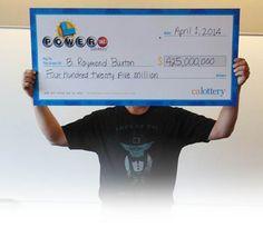 Descartan error en la página de la Lotería Electrónica Aunque los números del sorteo de Powerball no están en orden es inmaterial para el jugador