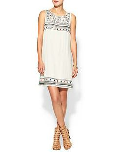 embroidered shift dress / piperlime