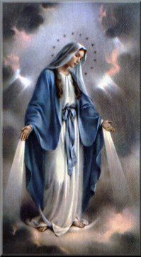 Our Lady, Queen of Heaven holy card Religious Pictures, Jesus Pictures, Religious Icons, Religious Art, Blessed Mother Mary, Divine Mother, Blessed Virgin Mary, Catholic Religion, Catholic Art