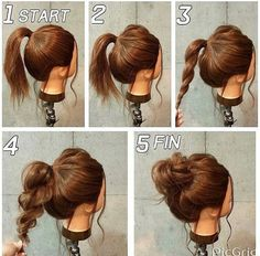 Simple Hairstyles Top 10 Super Easy 5Minute Hairstyles For Busy Ladies  Pinterest