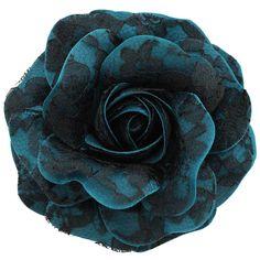 Women's+Black+Lace+Rose+_+Teal+[Black+Lace+Rose+_+Teal]+-+$19.95+:+Sara+Monica,+Sara+Monica+Flowers