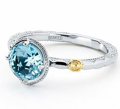 Tacori Diamond Rings, White Gold Diamond Ring