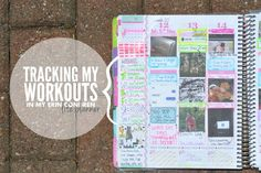 Amanda Rose Blog: Tracking my Workouts in my Erin Condren Planner