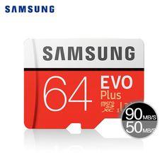 SAMSUNG Micro SD Card 128GB 64gb 32gb 256g 100Mb/s Class10 U3 SDHC SDXC Microsd Memory Card Flash TF Card 16gb For Mobile Phone //Price: $15.08//     #Gadget