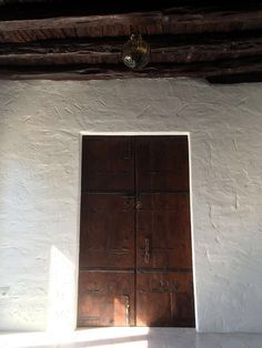 Inkhouse Ibiza - Wooden Door
