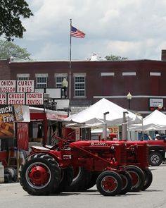 Anthony Cornett's photo of Farmall tractors at the Centralia Anchor Fest 2014.