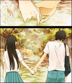 Kimi Ni Todoke.... They are such a cute couple! see you want know until you try!!!!