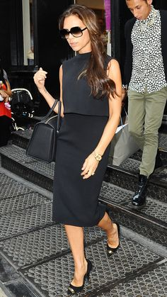 Victoria Beckham's Most Stylish Looks Ever - September 12, 2013 from #InStyle