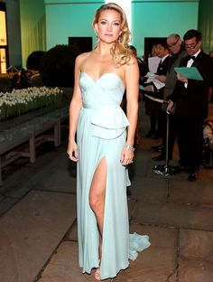 Actress Kate Hudson is wearing Diamonds from the Tiffany & Co. 2013 Blue Book Collection as she attends the Tiffany & Co. Blue Book Ball at Rockefeller Center on April 18, 2013 in New York City.