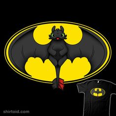 How To Train Your Bat #HowToTrainYourDragon #Batman
