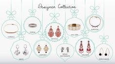Designer collection #Hornica #Ayalabar #DorusMhor #Kurshuni #Ishu+Bra #SergioBustamante #Lampony' #Zoppini #Mieko #Pepitosa