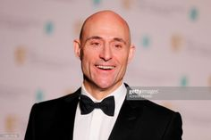 News Photo : British actor Mark Strong poses in the winners...