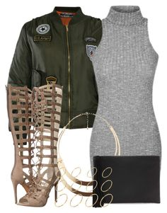 """""""4 6 16"""" by miizz-starburst ❤ liked on Polyvore featuring Pilot, Charlotte Russe, Kendall + Kylie, Forever 21 and ASOS"""