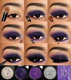 Pin on Eye make-up Eye Makeup Steps, Smokey Eye Makeup, Skin Makeup, Eyeshadow Makeup, Eyeliner, Glitter Makeup, Brows, Makeup 101, Makeup Looks