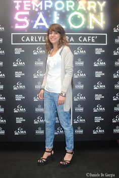 20/09/2013 GAMA Temporary Salon at Milan Fashion Week! #mfw #milanofashionweek #gama #gamaitalia #capelli #hair #gamaprofessional
