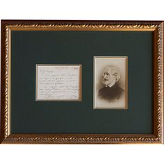 Verdi Signed Letter And Photograph. Met Opera Shop $8,625