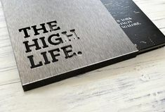 """Live the High Life, Nitesh Estates via Neha Tulsian  Nitesh Park Avenue is about upward mobility. The brochure explores various concepts associated with """"high living""""."""