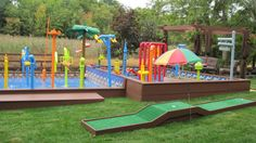 Here are the Playground Design Ideas For Kids. This article about Playground Design Ideas For Kids was posted under the … Backyard Water Parks, Backyard For Kids, Backyard Ideas, Pool Ideas, Garden Ideas, Outdoor Wooden Swing, Outdoor Fun, Outdoor Stuff, Outdoor Ideas