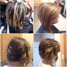Comb balayage techniques for a very natural result on balayage balayage on short hair gorgeous straight and curled solutioingenieria Images