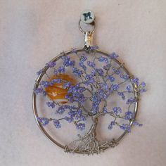 Wire Tree SculptureWire Tree Tree of Life Silver by OnlyTrees