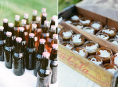 harvest party: rootbeer, chili, pumpkin pie, smores.