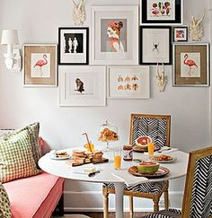 Cute option for a small dinning room. Great for small families or a single home.  #dinningroom #remax #remaxnova