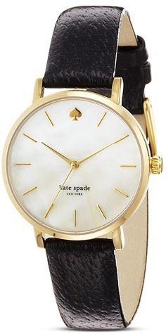 kate spade new york Gold Metro Strap Watch, 34mm