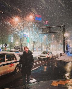 @dh_jung_bap 눈보라 Look at the snow.