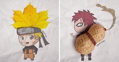 I Create Naruto Illustrations Using Everyday Objects | Bored Panda
