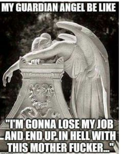 Guardian angel fail. No worries, I've got a bus for that!