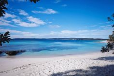 Walk the whitest sands on earth at Jervis Bay, South Coast. The crystal-clear waters of Hyams Beach will be waiting for you at the finish line. #NewSouthWales  Credit: Russell Johnson