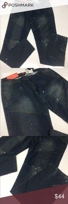 Rolling Paper - Blue Denim Slim Size 38X32 NWT Rolling Paper - Blue Denim Slim Size 38X32 NWT Rolling Paper Jeans Slim