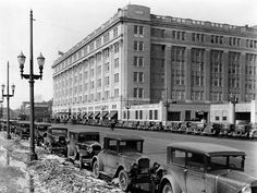 Historic Sites of Manitoba: Hudson's Bay Company Building Portage Avenue, Winnipeg) Hudson Bay, Historical Sites, Ancestry, Continents, North America, My House, Past, Nostalgia, Fotografia