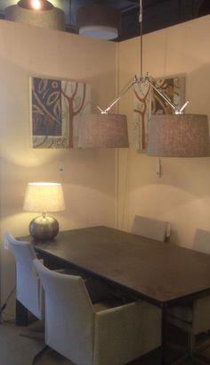 showroom winkel interieur verlichting verlichting voor de slaapkamer woonkamer tafel salontafel of woon keuken