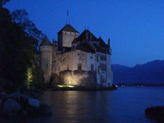 Chateau de Chillon, Montreux, Suisse Cologne, Cathedral, Around The Worlds, Building, Travel, Viajes, Buildings, Traveling, Cathedrals