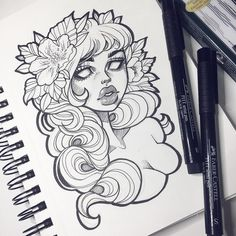 Sorry I've been so inactive lately lovelies I've just been very busy. Thank you for all the love lately ✨ #graphicartery #sketch #sketchbook #illustration #art #artist #artcollective #wip #myart #instaart #drawing #tattoo #ink #tattoos #floral #occult #witch