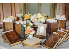 Tableau-de-mariage-tema-libri - tulle e confetti