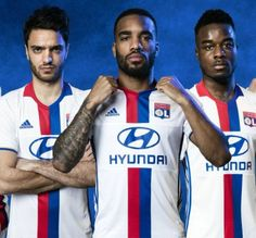 Olympique Lyon 2016/17 adidas Home and Away Kits